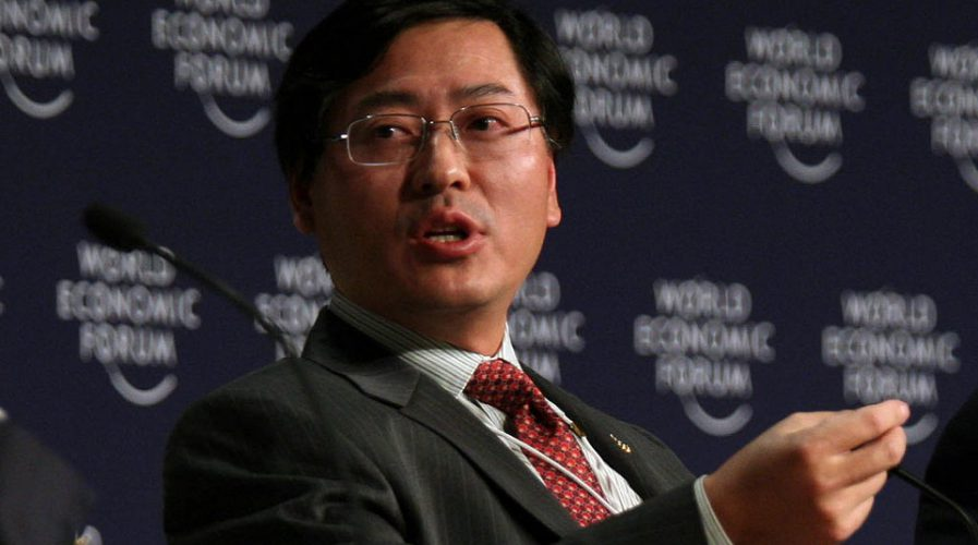 Yang Yuanqing, CEO of Lenovo