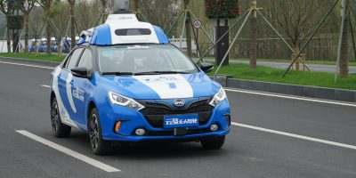 baidu driverless autonomous vehicles