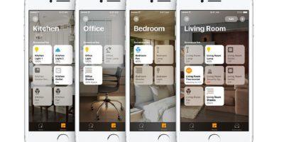 apple homekit iphone interface