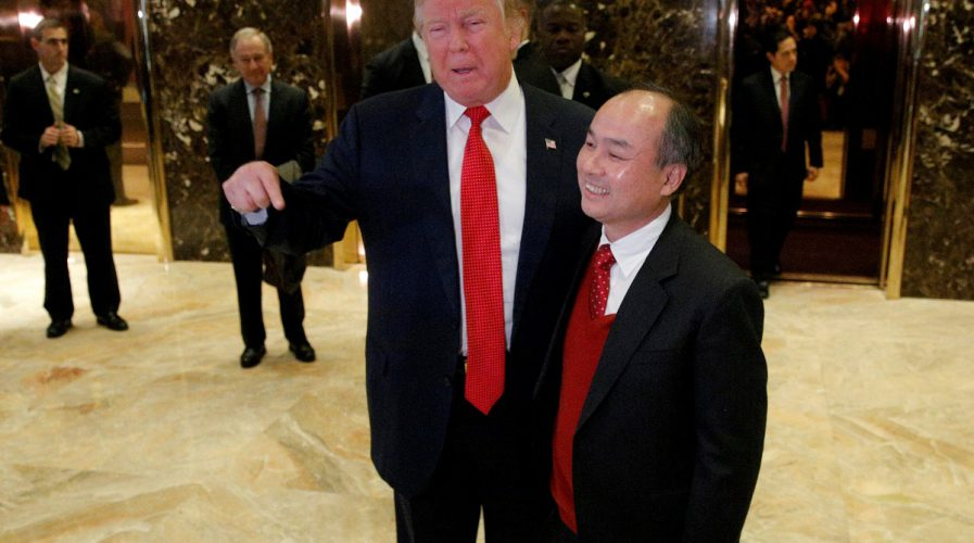 donald trump masayoshi son softbank japan united states president