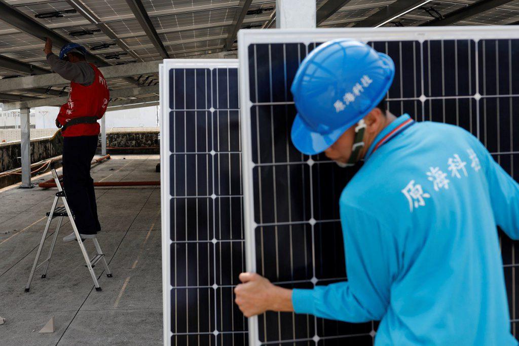 solar panels taiwan
