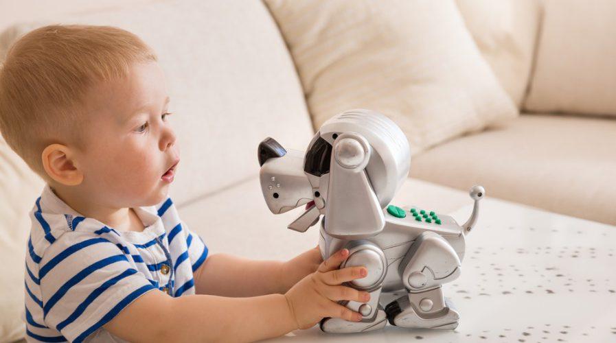 mattel digital toy robot dog children