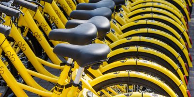 ofo bicycles bike-sharing china