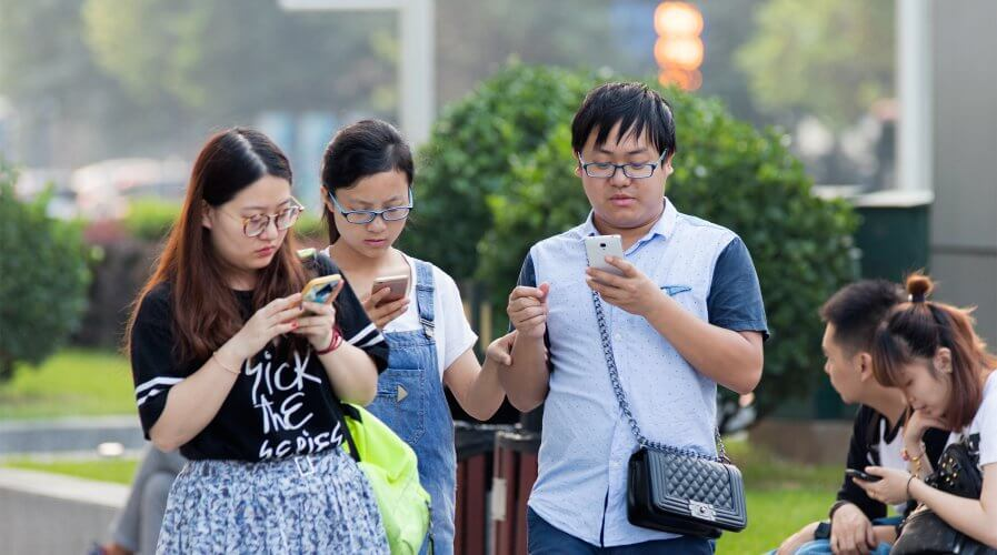 WeChat, China, mobile phone