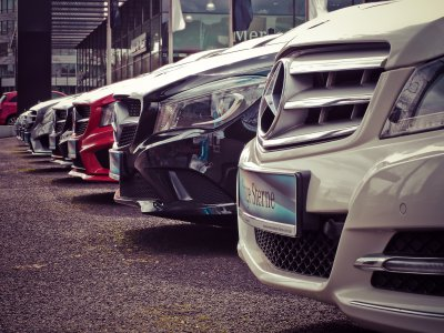 Mercedes line of cars